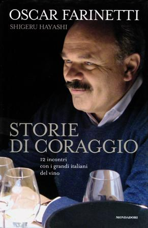 book cover, Storie di Coraggio by Oscar Farinetti and Shigeru Hayashi
