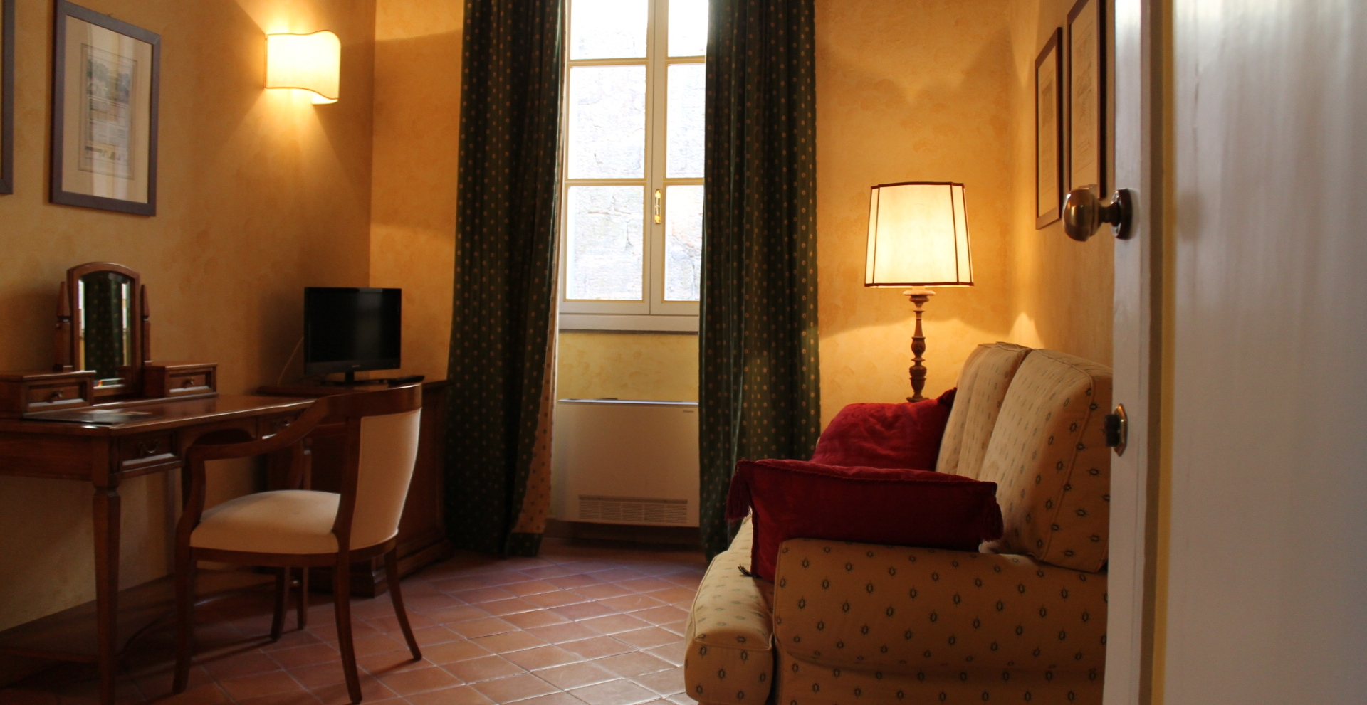 bedrooms at La Tana dell'Istrice